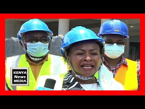 The construction of 1.8 billion Kenya Maritime Authority Complex at Mbaraki