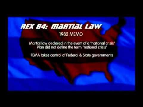 Rex 84 FEMA Camps   Continuity of Government