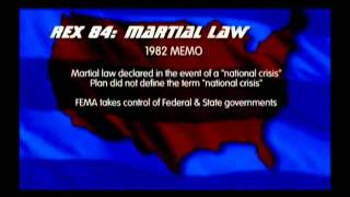 Rex 84 FEMA Camps   Continuity of Government