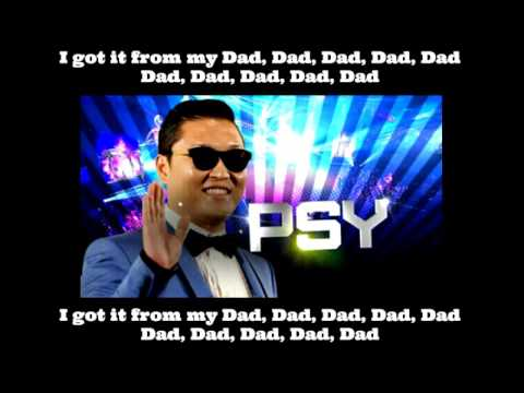PSY - Daddy (Feat. CL) [Lyrics Rom, Eng]