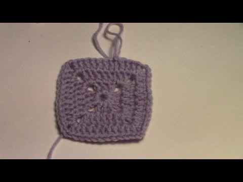 Haken Tutorial 16 De Gesloten Granny Square Youtube