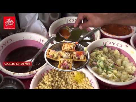 Mumbai Street Food - Famous Chat Dahi Boondi -Area  Ulhasnagar Street Food