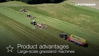 Foto von PÖTTINGER - Large-scale grassland machines