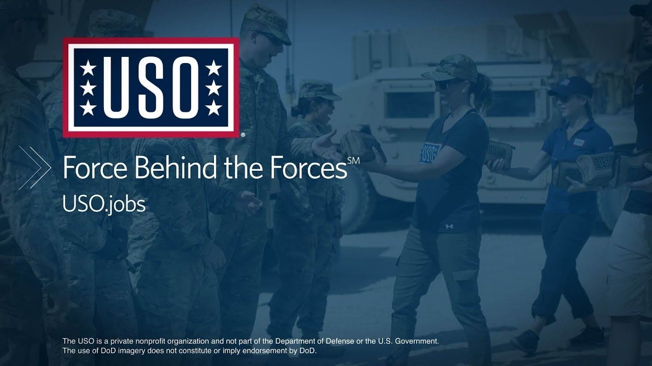 Careers at the USO · United Service Organizations