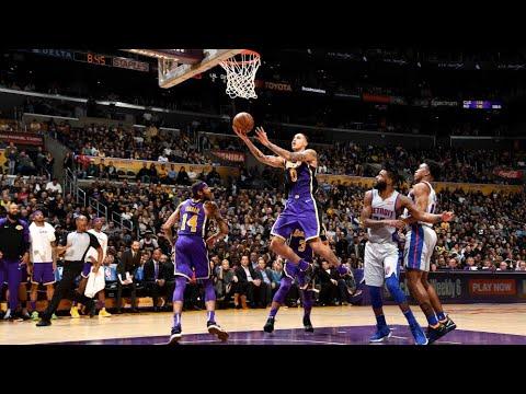 Lakers defeat Pistons 113-100, Kyle Kuzma 41 points. (REACTION)