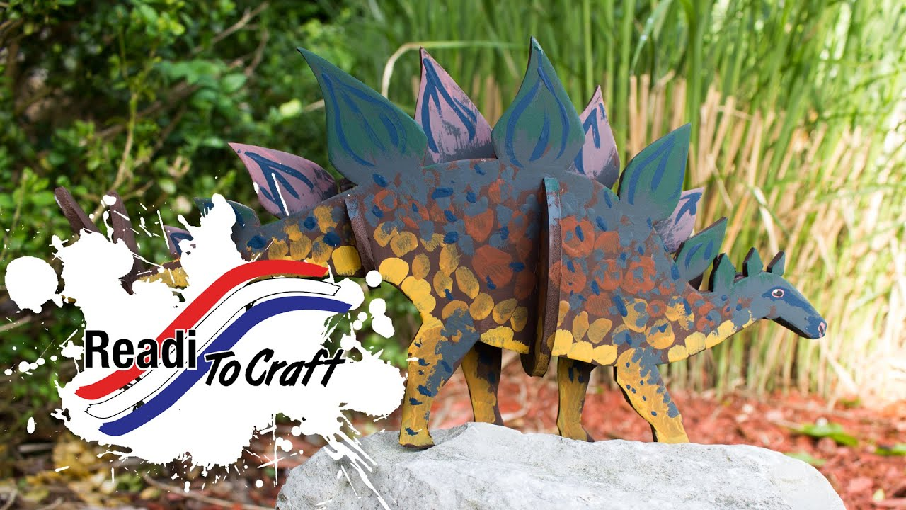 Readi to Craft: Stegosaurus