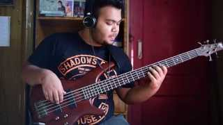 Paul Gilbert - Technical Difficulties Bass Cover By Swapnabha Roy