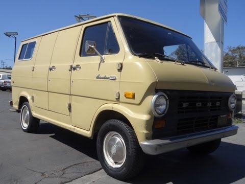 Ford Econoline E100 Van E-100 Cargo or Conversion RV 1971 Wo