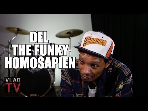Del the Funky Homosapien on Not Wanting to Do Gorillaz