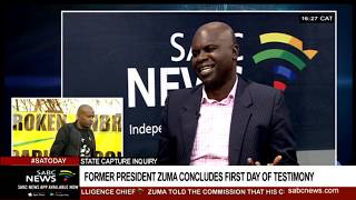 Analysis of Zuma's first day at state capture: Levy Ndou(Part 1)