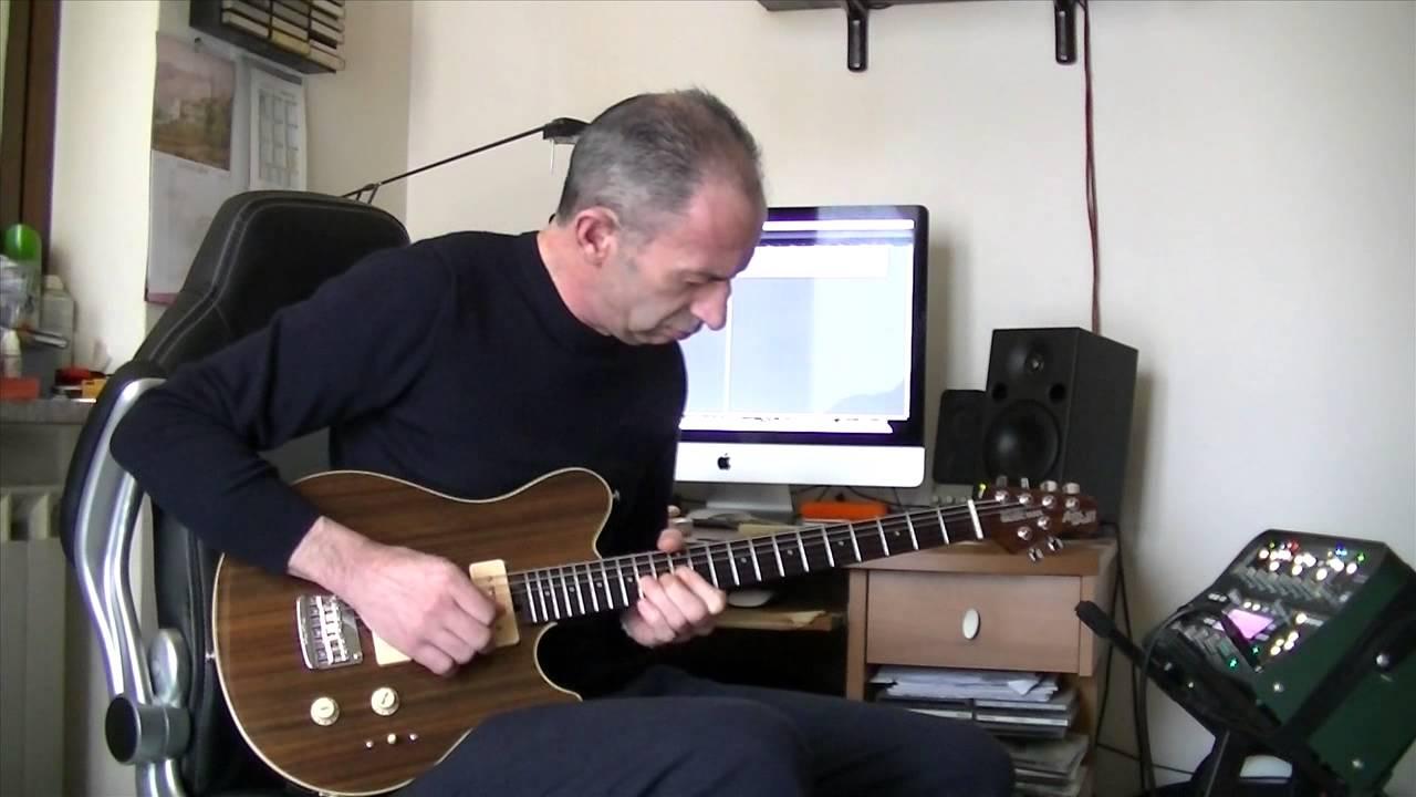 Prova Music Man Axis Super Sport P90 All Rosewood E Kemper Youtube
