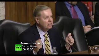 RickWells.US - Sen Graham Desperate For War With Syria, Russia For Elite Profiteering