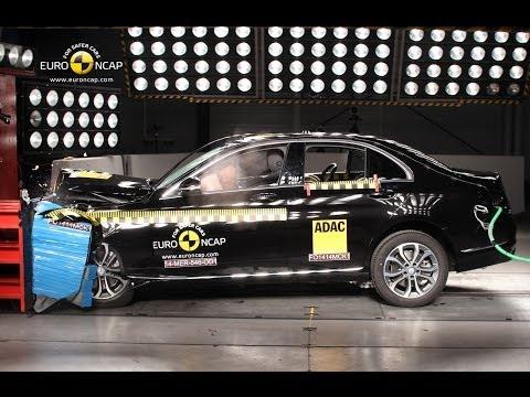 Mercedes C-Class Crash Test Euro NCAP