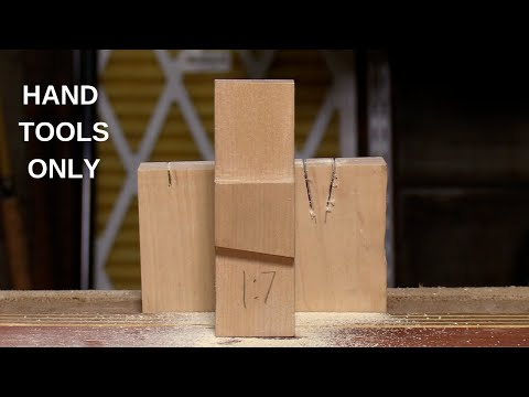 Making A Dovetail Template