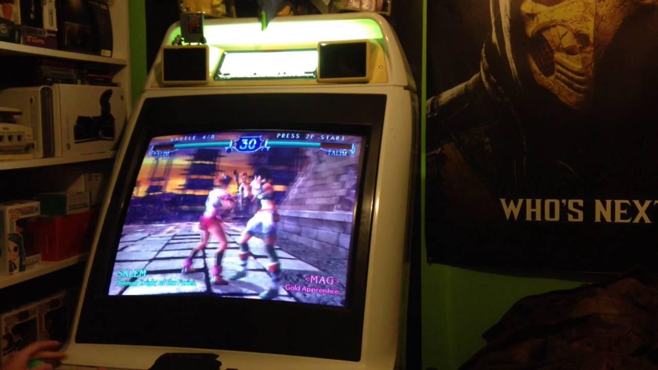 soul calibur 3 arcade machine