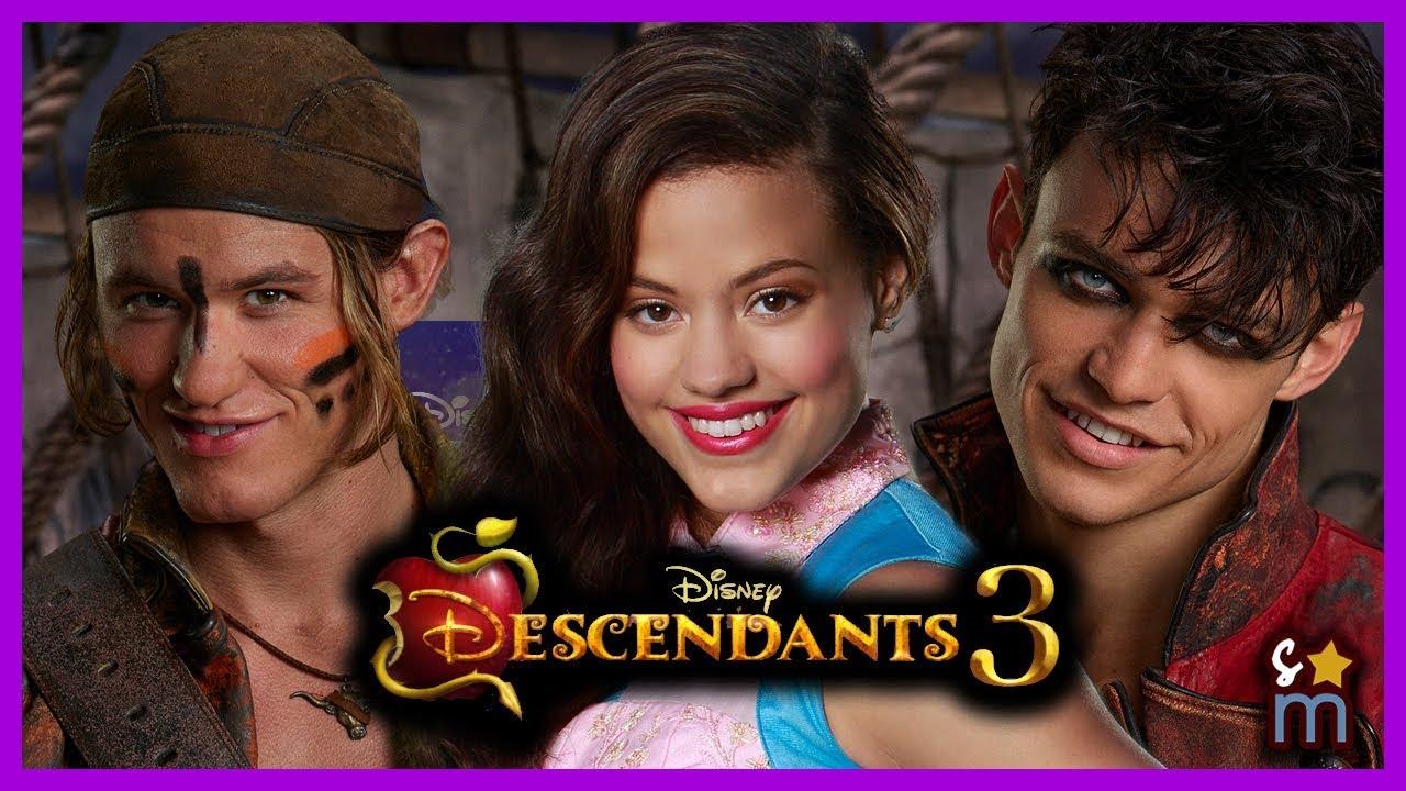 DESCENDANTS 3 Cast: Audrey, Gil & Harry Confirmed! Thomas Doherty, Sarah  Jeffrey, Dylan Playfair
