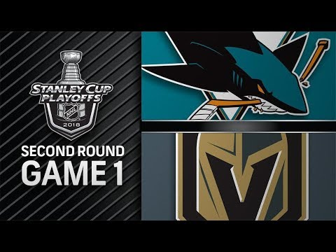 San Jose Sharks vs Vegas Golden Knights – Apr. 26, 2018 | Game 1 | Stanley Cup 2018. Обзор