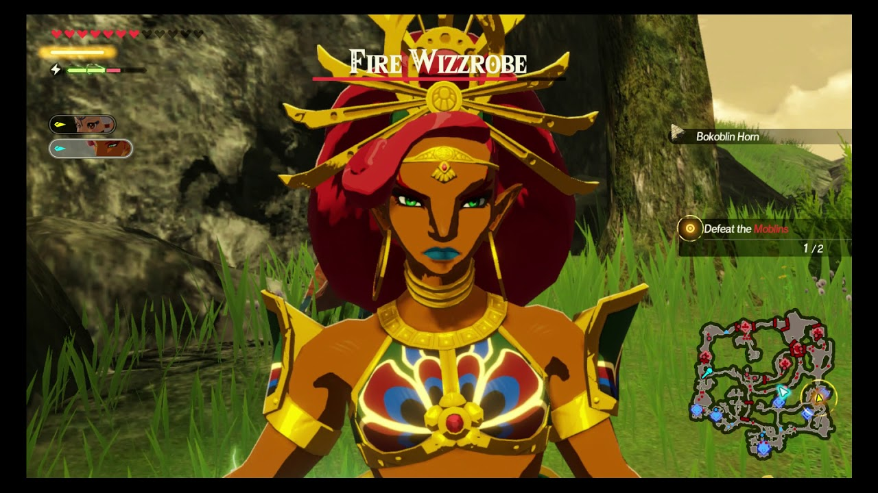 Hyrule Warriors Age Of Calamity Chapter 2 Korok Seeds The Yiga Clan Attacks Youtube
