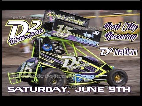 D2 Motorsports - Port City Raceway - Points Race 6-9-18