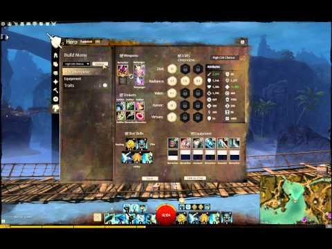 Guild Wars 2 BUILD TEMPLATE design