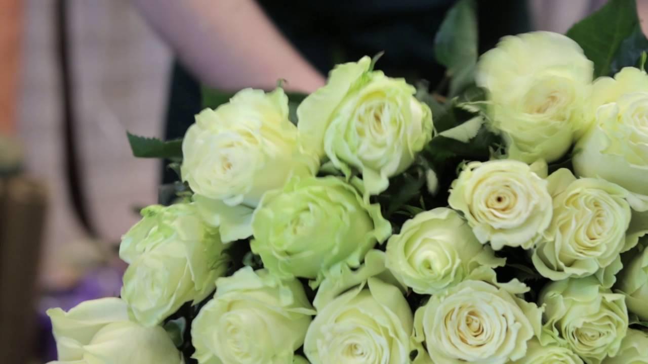 201 розовая роза 70 см - YouTube