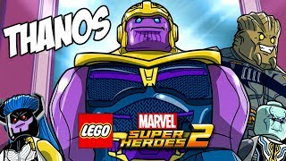 THANOS Running The Gauntlet LEGO Marvel Super Heroes 2 Walkthrough Gameplay
