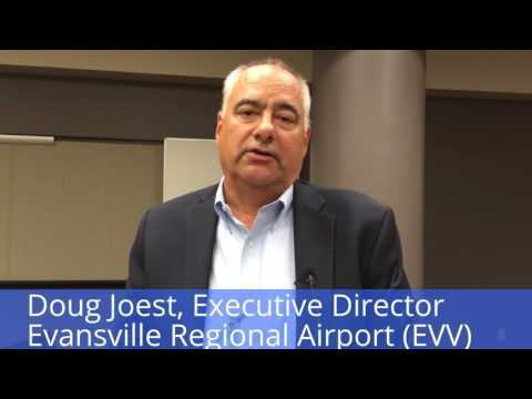 Evansville Regional Airport adds another jet bridge to accommodate passenger demand