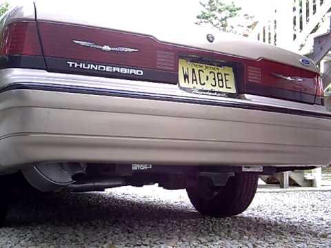 1991 Ford Thunderbird Start Up And Walk Around