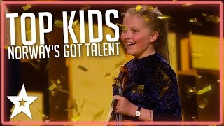 TOP 5 Kids Auditions on Norway's Got Talent 2019 | Kids Got Talent