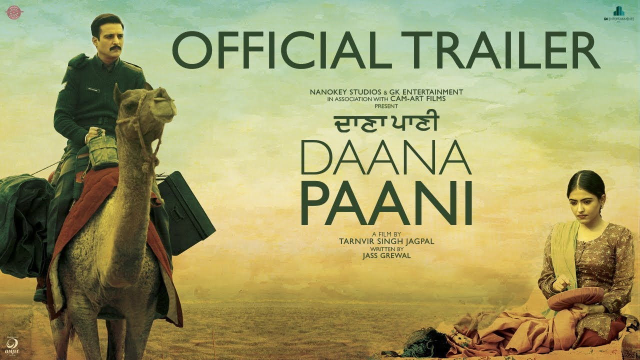 Daana Paani Official Trailer Jimmy Sheirgill Simi Chahal Releasing 4th May