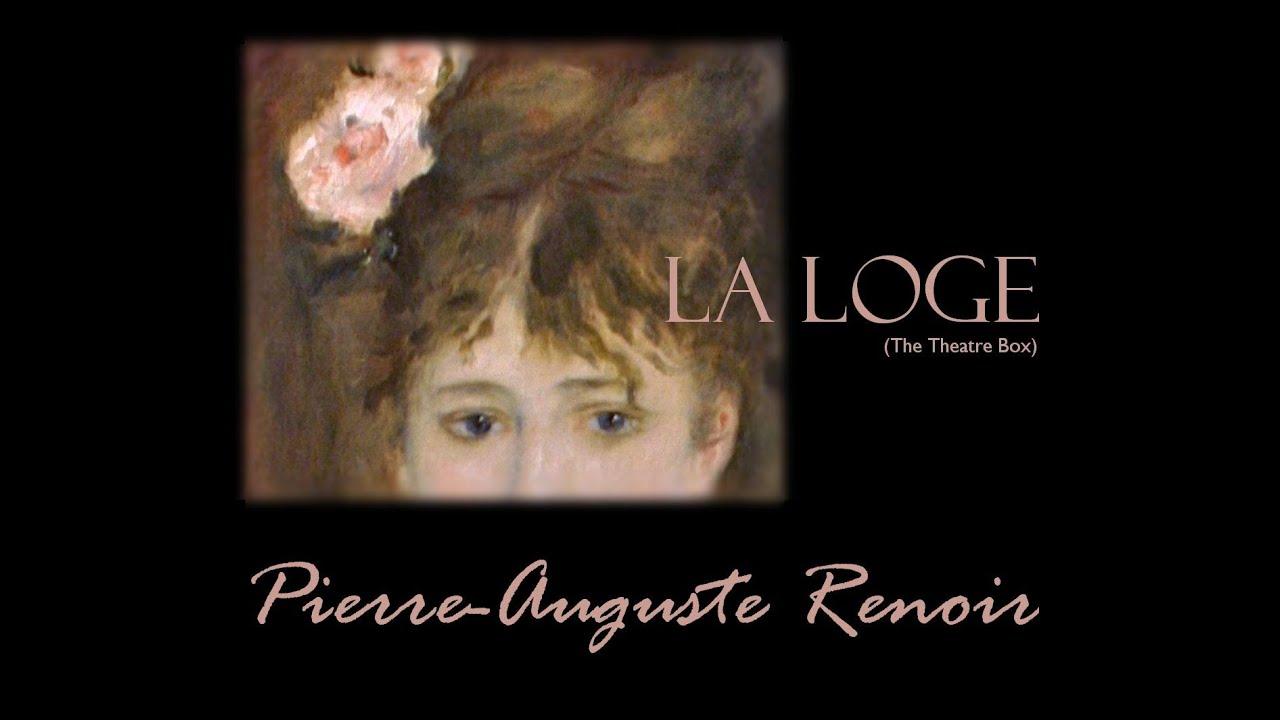 RENOIR's La Loge - YouTube
