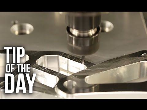 Easily Engrave Sequential Serial Numbers – G47 Part 2 – Haas Automation Tip of the Day