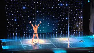 Stelios Liberis - Greek Pole Dance Championship 2016 by Rad Polewear - Men Runner Up