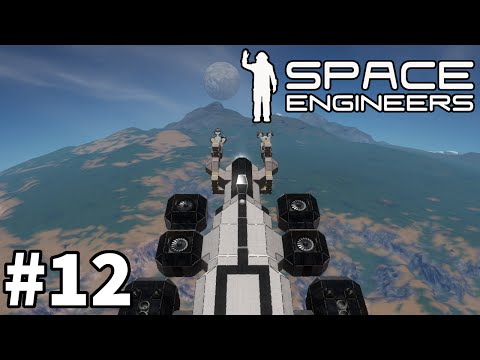 "Space Engineers (Planet Survival) - Part 12 ""Self Hydrogen Gen"""