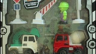 Дорожно-строительная техника для детей,мультфильмы  про машинки