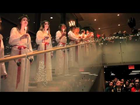 Lucia celebration at House of Sweden