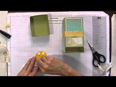 Tea Bag Dispenser Box