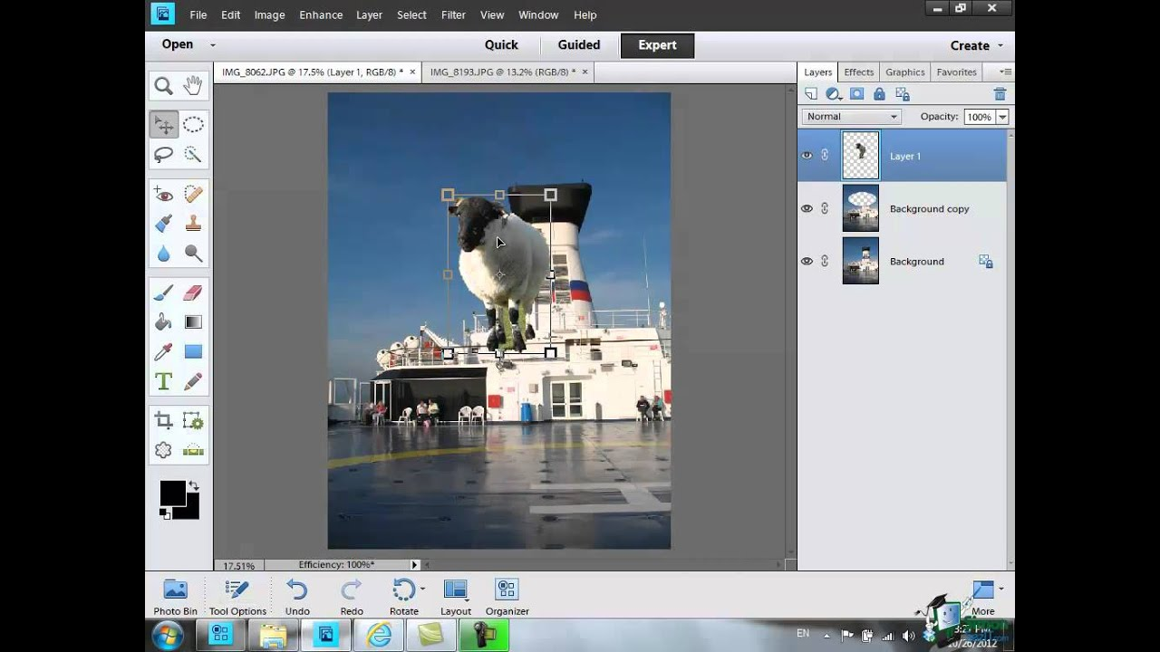 Using layers in photoshop elements 11 part 1 youtube baditri Gallery
