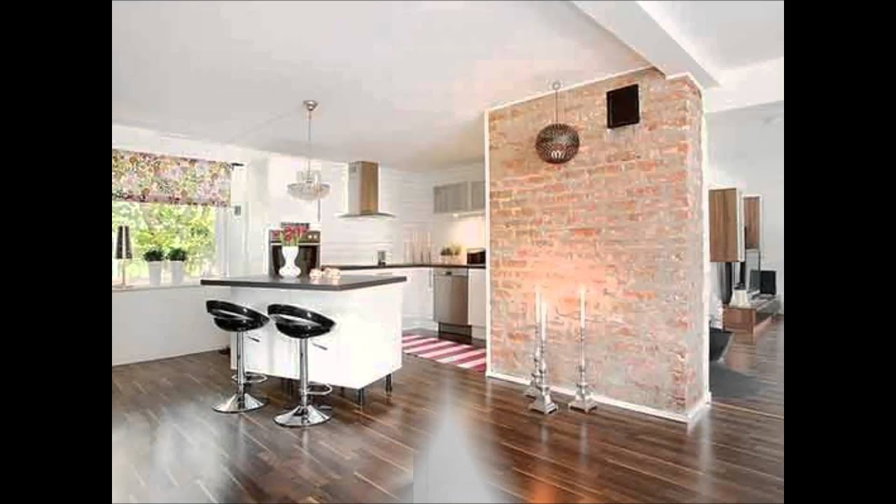 Give Your Home A Rustic Or Industrial Touch With Brick Wall
