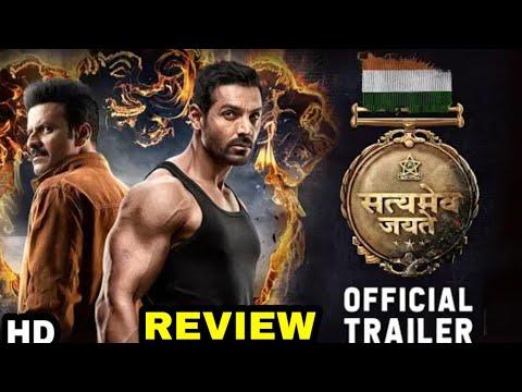 Satyamev Jayate Official Trailer Out Now  John Abraham  Manoj Bajpayee  Milap Milan Zaveri