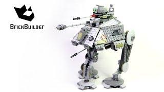 Kijk Lego Star Wars 75043 AT-AP filmpje