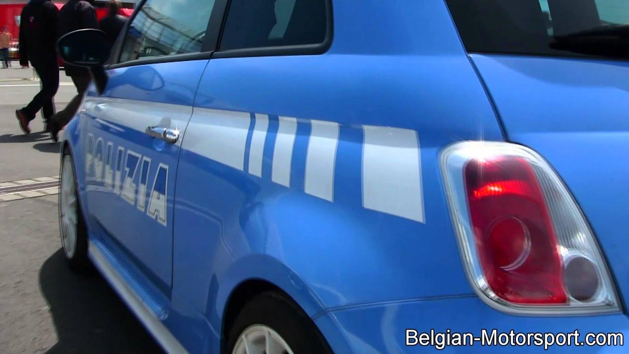 Fiat Abarth 500 Esseesse Polizia Livery
