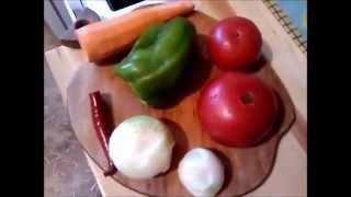 Фасоль с овощами (отличный заменитель мяса) ОООчень вкусно!!!!