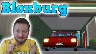 BIL OG GARAGE! - Roblox Bloxburg Dansk Ep 2