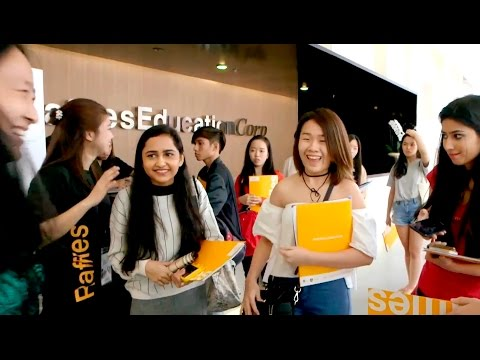 Raffles Singapore's Orientation Jan 2017
