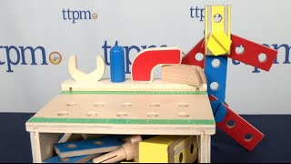 Hammer And Saw Tool Bench From Melissa & Doug