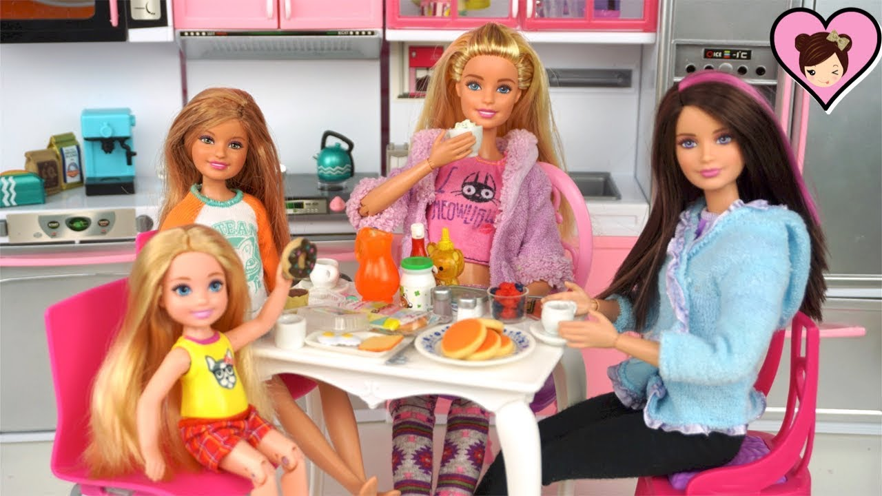 Barbie Sisters Morning Amp Evening Routine Titi Toys