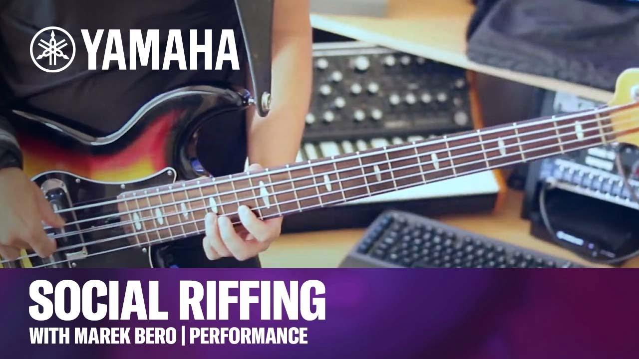 Social Riffing with Marek Bero | Performance