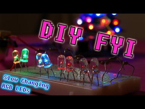 DIY FYI: Slow Changing RGB LEDs