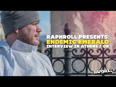 Endemic Emerald (UK) - Interview in Athens Greece (Rapnroll.gr)